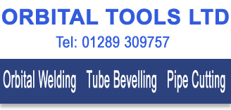 Orbital Tools Ltd for all your Orbital Welding, Tube Bevelling and Pipe Cutting Equipment